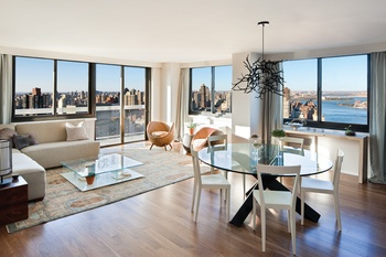 Ious Luxurious Upper East Side Location New Construction 1370 Sq Feet Hudson River View E72 St York Ave